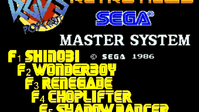 Aaron Sega Master System Chiptune Disk